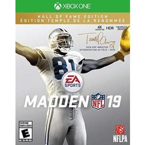 MADDEN NFL 19 - Hall Of Fame Edittion (輸入版:北米) - XboxOne lovesmiletenn