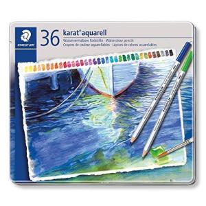 カラトアクェレル水彩色鉛筆36色 125M36 36色|lovesmiletenn