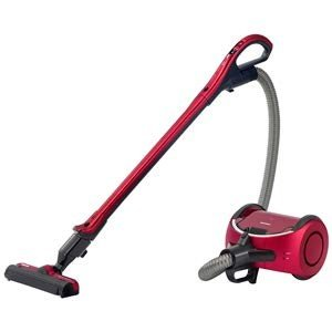 流れるようにスムーズ、疲れにくいお掃除を 握りやすいグリップ 戻すと自動でゴミ捨て、自動で充電