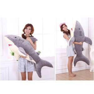 ぬいぐるみ サメ ぬいぐるみ 特大 110cm サメ抱き枕/鮫ぬいぐるみ/子供プレゼント/お祝い/ふわふわぬいぐるみ サメ lovesound