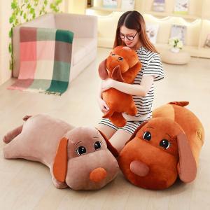 犬ぬいぐるみ 120cm イヌぬいぐるみ いぬ/抱き枕/クマ縫い包み/プレゼント/イベント/お祝い|lovesound