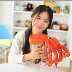 ぬいぐるみクッション タコ リアル 章魚 30cm抱き枕 ぬいぐるみ 子供 プレゼント ふわふわ|lovesound