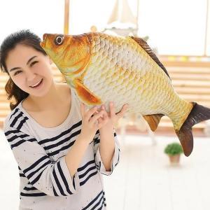 魚 ぬいぐるみさかな 面白い おもちゃ抱き枕 80cm|lovesound