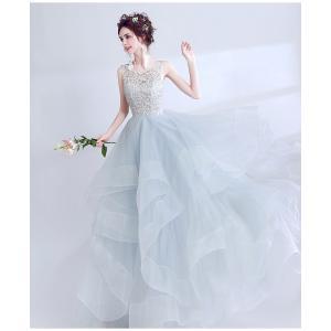 ウェディングドレス 結婚式 パーティー ドレス 二次会 6から12日でお手元に届きます。