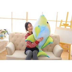魚 ぬいぐるみさかな 面白い おもちゃ寝るときに抱き枕120cm|lovesound