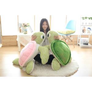 ぬいぐるみ 亀 カメ/かめ 特大 110cm カメ 大きいサイズ動物ぬいぐるみ 巨大 可愛いくま抱き枕 子供のプレゼント ふわふわな手触りがたまらない|lovesound