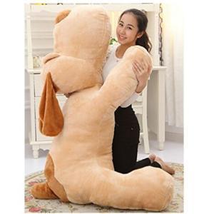 クリスマス・巨大イヌぬいぐるみ110cm 特大可愛い犬/抱き枕/いぬ縫い包み/プレゼント/イベント/お祝い/ふわふわぬいぐるみ ソフト 可愛いぬいぐるみ|lovesound