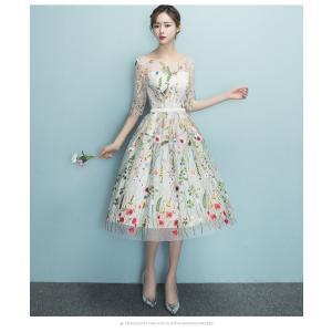 ウェディングドレス 結婚式 パーティー ドレス 二次会 6から12日間でお手元に届きます。