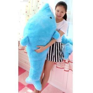 海豚/イルカ 大きいいるか 動物 2色 200cm 可愛い 海豚ぬいぐるみ/縫い包み/クマ抱き枕/お祝い/ふわふわぬいぐるみ|lovesound
