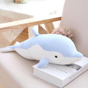 海豚/イルカ 大きいいるか 動物 可愛い 海豚ぬいぐるみ/縫い包み/クマ抱き枕/お祝い/ふわふわぬいぐるみ|lovesound