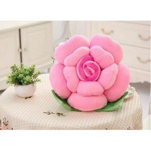 ぬいぐるみ 薔薇 バラ 造花 花びらクッション 抱き枕 インテリア雑貨 フラワーぬいぐるみ ソファークッション (30cm)|lovesound