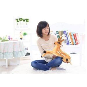 50cm リアルな鹿のぬいぐるみ 可愛いしかぬいぐるみ インテリア雑貨 子供おもちゃ プレゼント|lovesound