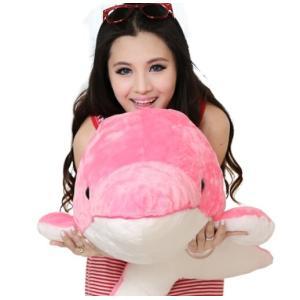 海豚 ぬいぐるみ いるか/イルカ 2色 90cm 可愛い動物ぬいぐるみ 手触りふわふわ/かわいいぬいぐるみ|lovesound