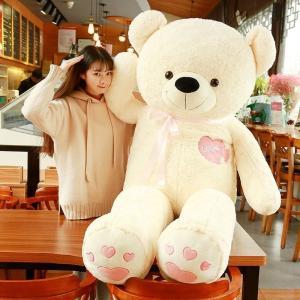 ●ぬいぐるみ 特大 くま/テディベア 可愛い熊 動物 大きいクマ ぬいぐるみ ●状態:新品  ●カラ...