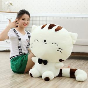 ねこ ぬいぐるみ 猫/ネコ 特大 可愛い動物ぬいぐるみ 手触りふわふわ/かわいいぬいぐるみ 100cm|lovesound