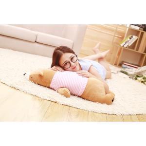 80cm可愛いブタ ホッキョクグマ パンダ クッション 抱き枕 オフィス用 ぬいぐるみ ふわふわ おもちゃ 誕生日|lovesound