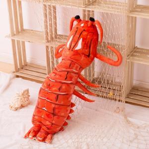 蝦 イセエビ110cm 抱き枕 ぬいぐるみクッション 子供 プレゼント男性 ぬいぐるみ女性 男の子 お誕生日プレゼント食店飾り品|lovesound