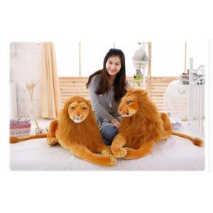 ぬいぐるみ 特大 ライオン /タイガー 大きい70cm 動物 可愛い ライオンライオン 縫い包み/ライオン抱き枕/お祝い/ふわふわぬいぐるみ|lovesound