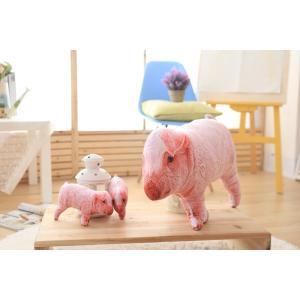 豚猪 クッション 抱き枕 オフィス用にも いのししの ぬいぐるみ ふわふわ おもちゃ 誕生日 彼女 プレゼント クリスマス 贈り物 22cm|lovesound