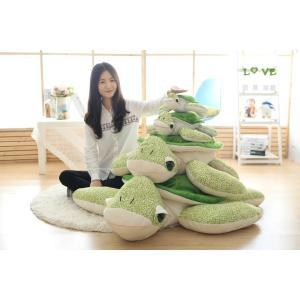 ぬいぐるみ 亀 カメ/かめ 特大 40cm カメ 大きいサイズ動物ぬいぐるみ 巨大 可愛いくま抱き枕 子供のプレゼント ふわふわな手触りがたまらない|lovesound