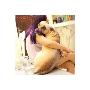 リアル 犬 抱き枕 インテリア 60cm|lovesound