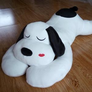 全長150cm ぬいぐるみ犬 イヌ ぬいぐるみ子供 ぬいぐるみ女性 プレゼント お誕生日プレゼント ふわふわぬいぐるみ 動物ぬいぐるみ 抱き枕|lovesound
