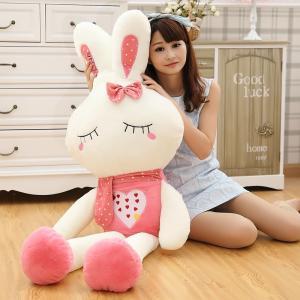 ぬいぐるみ ウサギ ぬいぐるみ うさぎ 特大 抱き枕 大きいサイズ 2色 150cm 可愛い兎 子供のプレゼントバレンタインデーの画像
