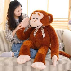 ぬいぐるみ さる/サル抱き人形 モンキー 動物ぬいぐるみ イベント/お祝い贈り物/誕生日プレゼント135cm lovesound
