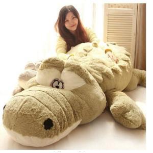 ぬいぐるみ ワニ/鰐 特大 2色 140cm 可愛いわに抱き枕/プレゼント/ふわふわぬいぐるみ lovesound
