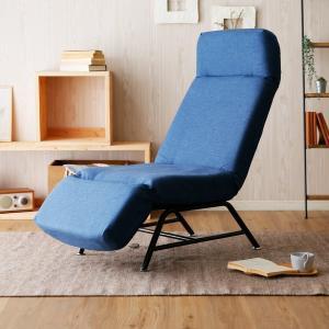 ソファー ソファ 1人掛け チェア 椅子 リクライニング 42段ギア ハイバック 3点可動 おしゃれ リラックスチェアー ロウヤ LOWYAの写真