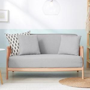 コンパクトなのにしっかり座れる、ワンルームのお部屋にも丁度良い2人掛け、2.5人掛けソファです。  ...