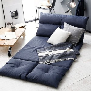 ソファ ソファーベッド 2人掛け ロータイプ 座椅子 リクライニング おしゃれ こたつ フロア ロウヤ LOWYAの写真