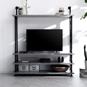 テレビ台 テレビボード ハイタイプ 収納付き テレビラック ビンテージ調 ヴィンテージ調 おしゃれの写真
