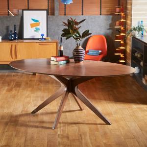 テーブル ダイニングテーブル おしゃれ 北欧風 ナチュラル 木製 リビング ロウヤ LOWYA