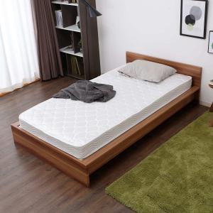 マットレス ダブル スプリング ボンネルコイル ロール梱包 厚み15.5cm ベッド シンプル 寝具...