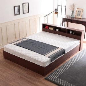 マットレス ベッド クイーン おしゃれ シンプル スプリング ボンネルコイル ロール梱包 厚み15....