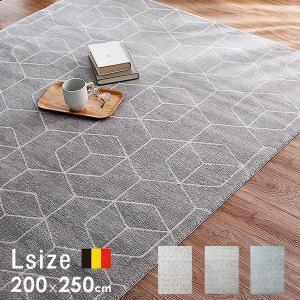 ラグ マット [L:200×250cm] ベルギー産 デザイン おしゃれ カーペット ロウヤ LOWYAの写真