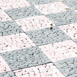 庭石 庭タイル タイル 10枚セット おしゃれ 天然石 DIY ガーデン 庭 ベランダ テラス 玄関...