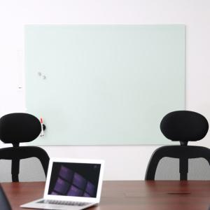 ホワイトボード 壁掛けタイプ ガラス製 ウォール...の商品画像