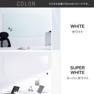 ホワイトボード 壁掛けタイプ ガラス製 ウォー...の詳細画像2