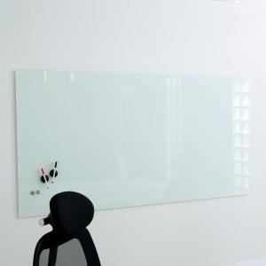 ホワイトボード ボード おしゃれ 壁掛け マグネット 無地 1800×900 オフィス 会議室 店舗 強化 シンプル ロウヤ LOWYA