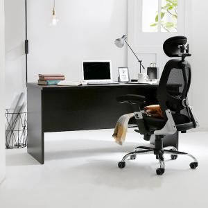 デスク パソコンデスク 机 幅160cm ライティング オフィス PC おしゃれ 木製 事務机 ワーク 省スペースの写真
