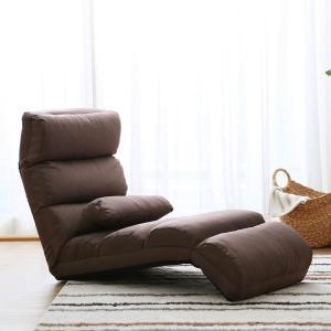 座椅子 座イス 座いす リクライニング座椅子 布製 ワイド ハリー ソファー ソファ 1人用 低反発...