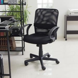 オフィスチェア メッシュ パソコン チェアー ミドルバック デザイン デスク用 PC OA 椅子 イス いす おしゃれ ロウヤ LOWYA