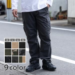 カーゴパンツ メンズ 再入荷 作業着 クライミングパンツ 太め ゆったり 作業ズボン  イージーパン...