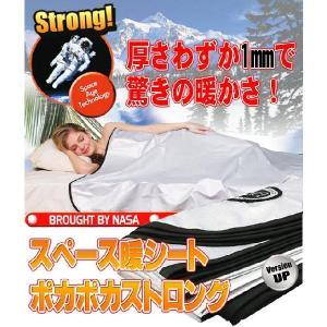 スペース暖シートポカポカストロング(2枚組)  シングル|lowprice