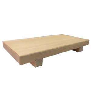 市原木工所 日本製 匠の工房 足付まな板 普通幅 45×22.5×6cm 30531|lowprice