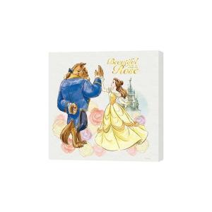 ディズニー キャンバスパネル 50角 美女と野獣 H000105|lowprice