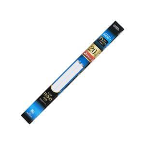 OHM 直管蛍光ランプ グロースタータ形 20形 昼光色 2本セット FL20SS・EX-D 2P|lowprice