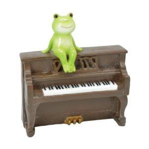 ロイヤルアーデン 置物 カエル楽団 64407 ピアノ|lowprice